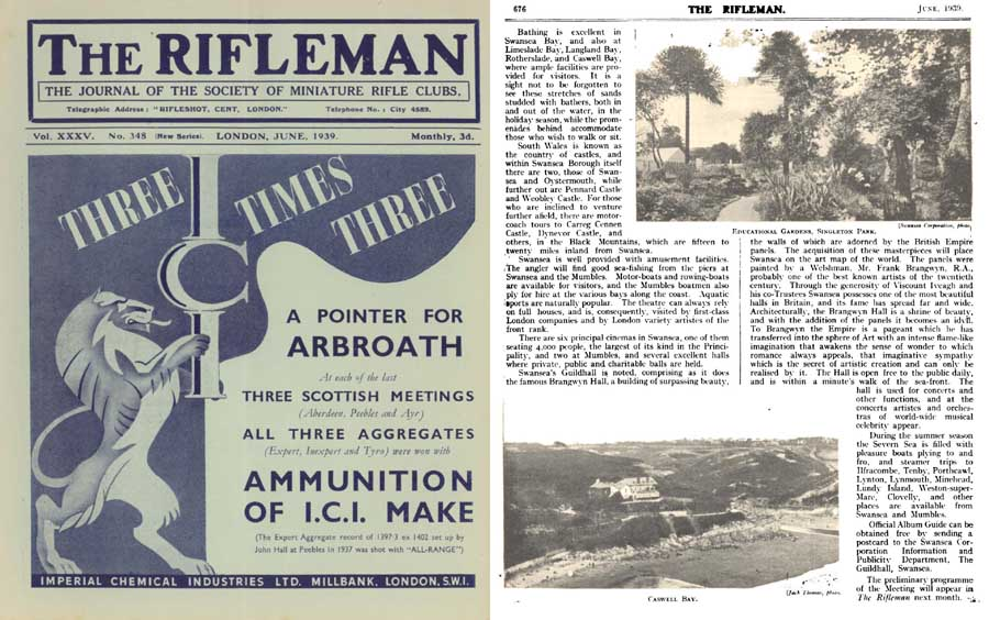 The Rifleman 1939 (UK) Journal of the Miniature Rifle Club