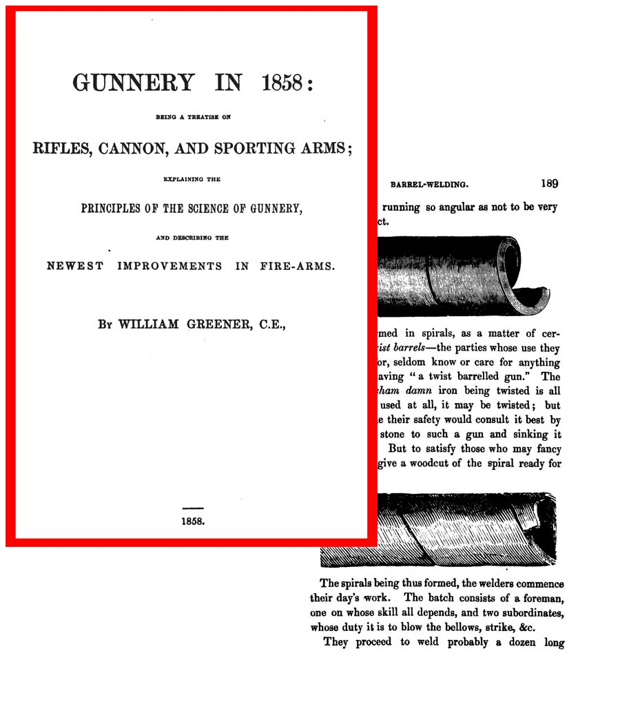 Gunnery in 1858: Rifles, Cannon & Sporting Arms (UK)