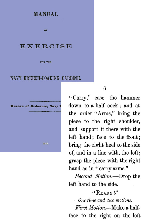 Manual of Exercise for the Navy Breech-Loading Carbine 1869