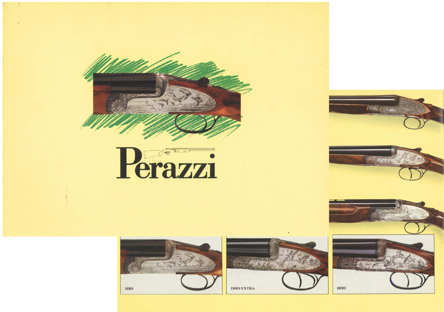 Perazzi c1990 Shotguns (Italy- in English)