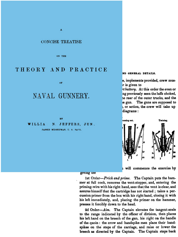 Naval Gunnery 1850 Theory and Practice (U.S.N.)