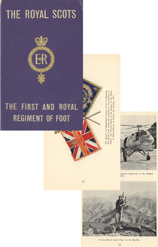 The Royal Scots 1964 The 1st & Royal Regiment of Foot