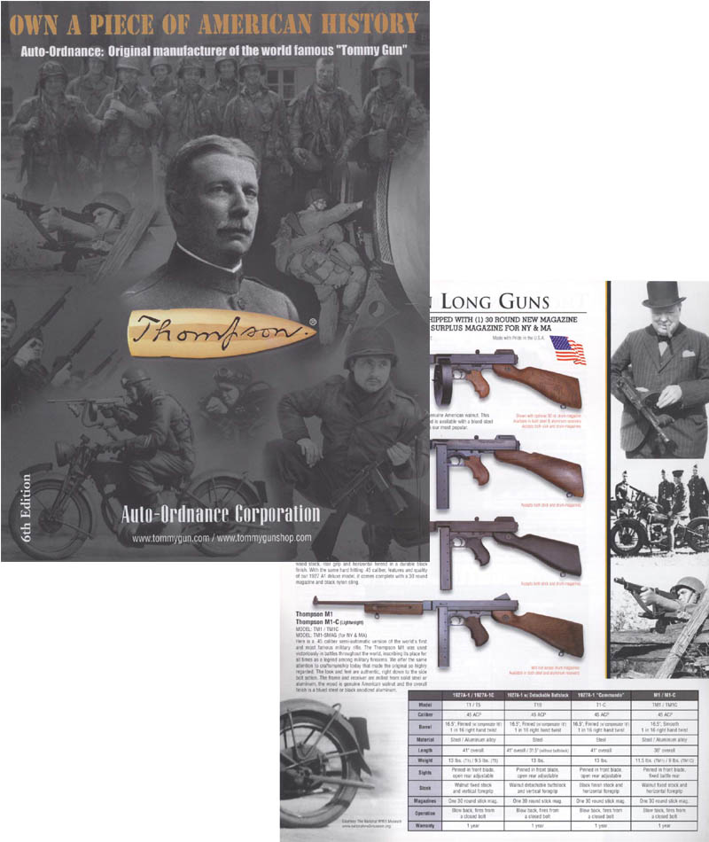 Auto-Ordnance c1995 - Thompson 6th Edition