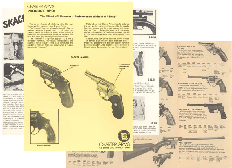 AR-7 by Charter Arms 1982 & Handgun (3)
