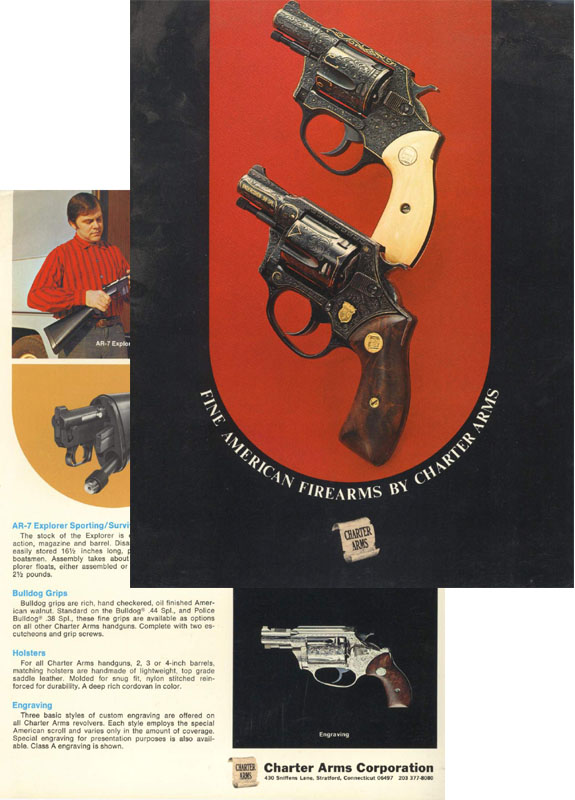 AR-7 Charter Arms c1966 & Handgun Catalog