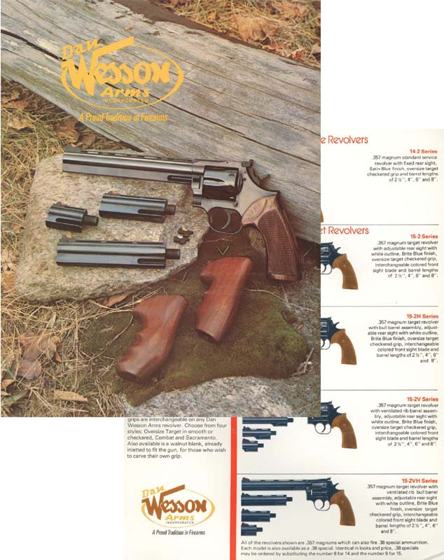 Dan Wesson 1976 Catalog & Price Sheet