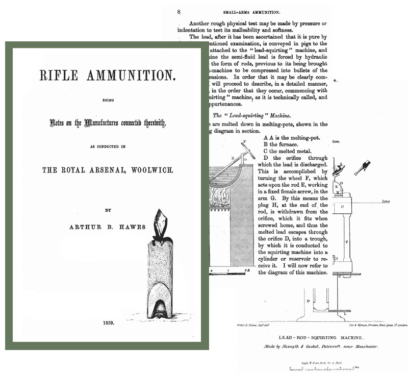 Rifle Ammunition 1859 Notes on The Manufacture (UK)