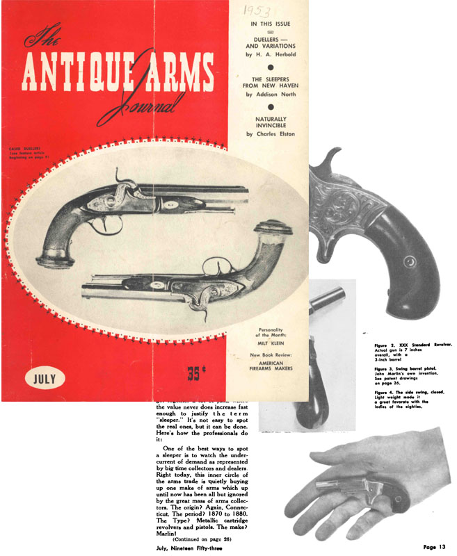 Antique Arms Journal July 1953 (Chicago)
