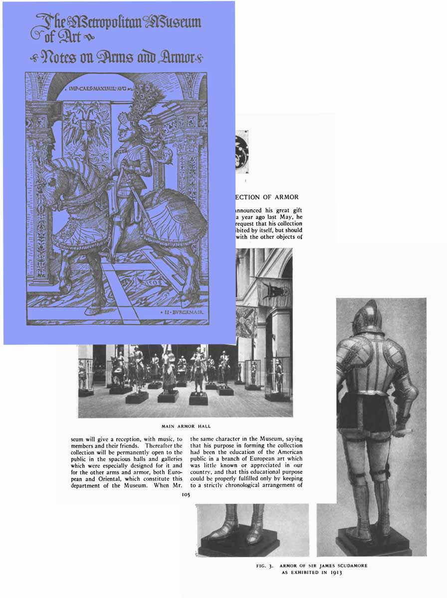 Notes on Arms and Armor 1916