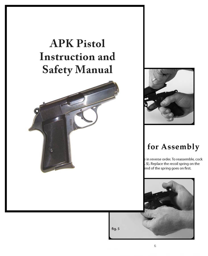 APK Pistol Instruction and Safety Manual