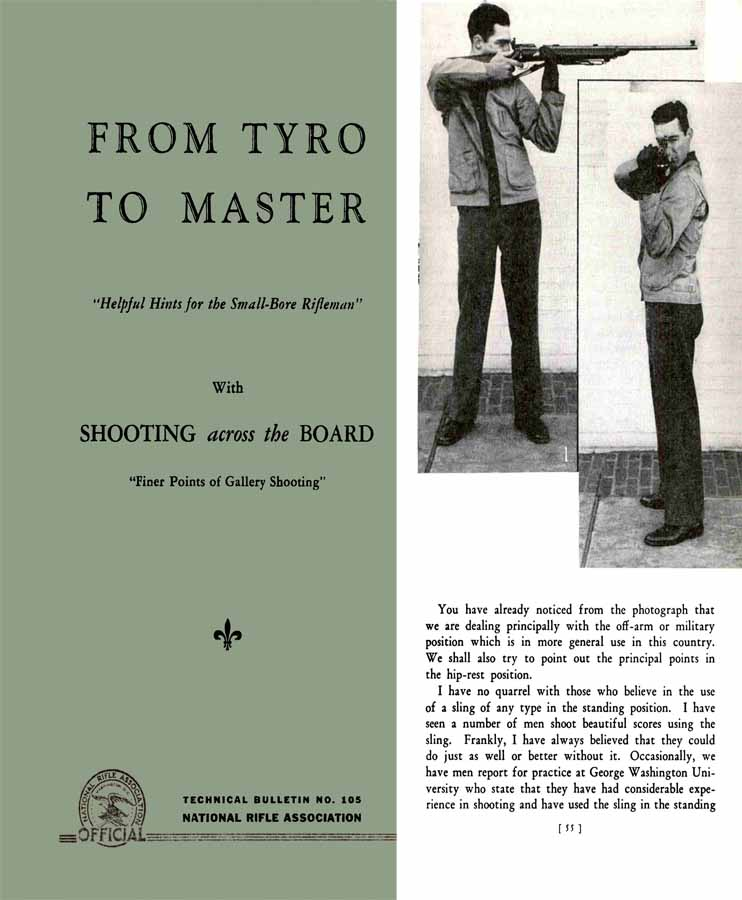 From Tyro to Master 1942 Manual of the Fundementals of the Shooting Game