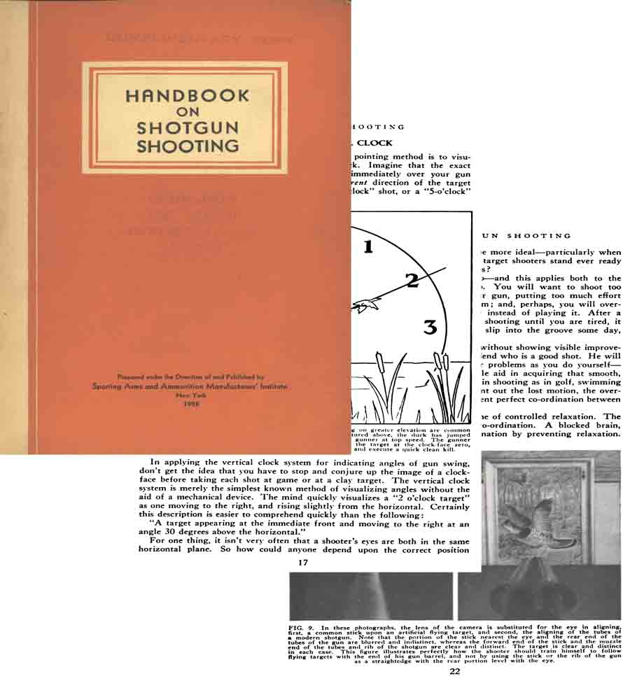 Handbook on Shotgun Shooting 1953