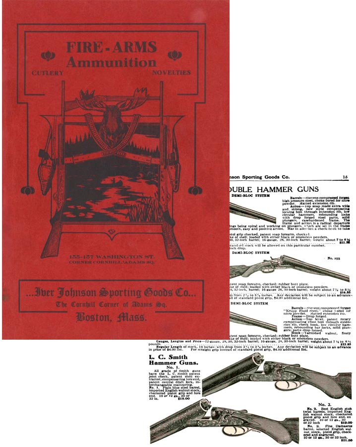 Iver Johnson c1908 Big Catalog
