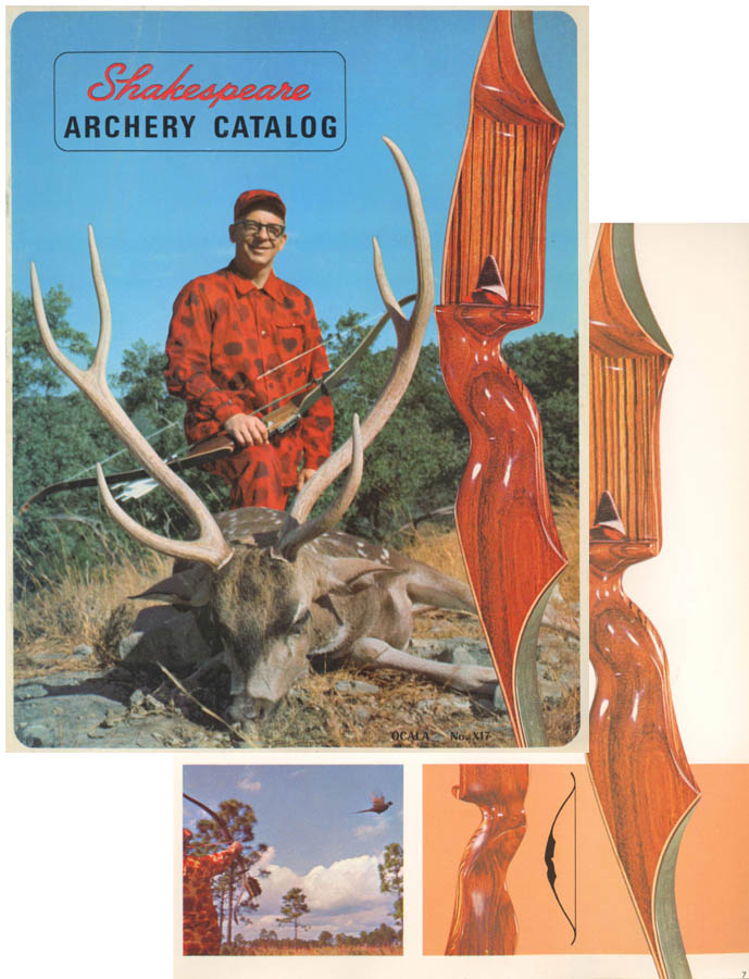 Shakespeare c1965 Archery Company Catalog