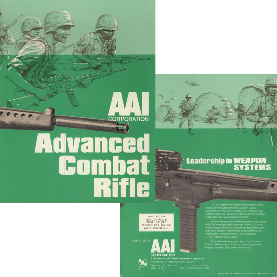 AAI- 1989 Advanced Combat Rifle