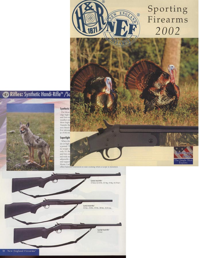 Harrington & Richardson Arms 2002 Firearms Catalog
