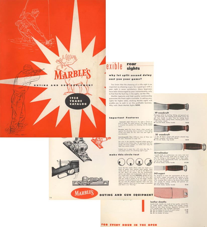 Marbles 1954 Arms Catalog