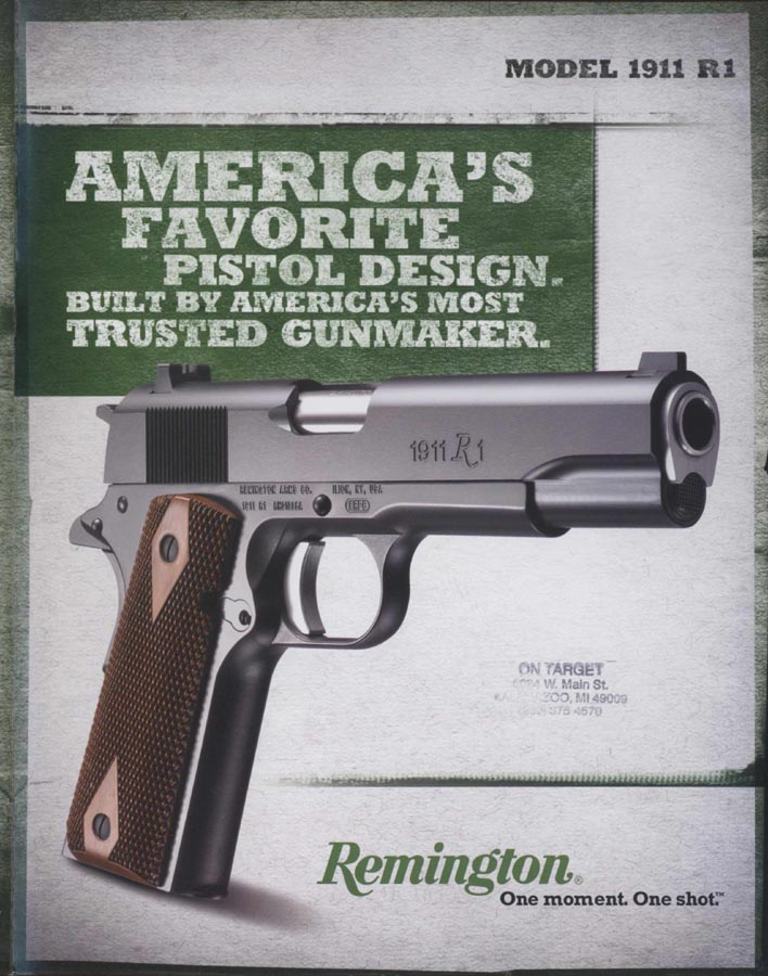 Remington 2010 - 1911 R1 Flyer