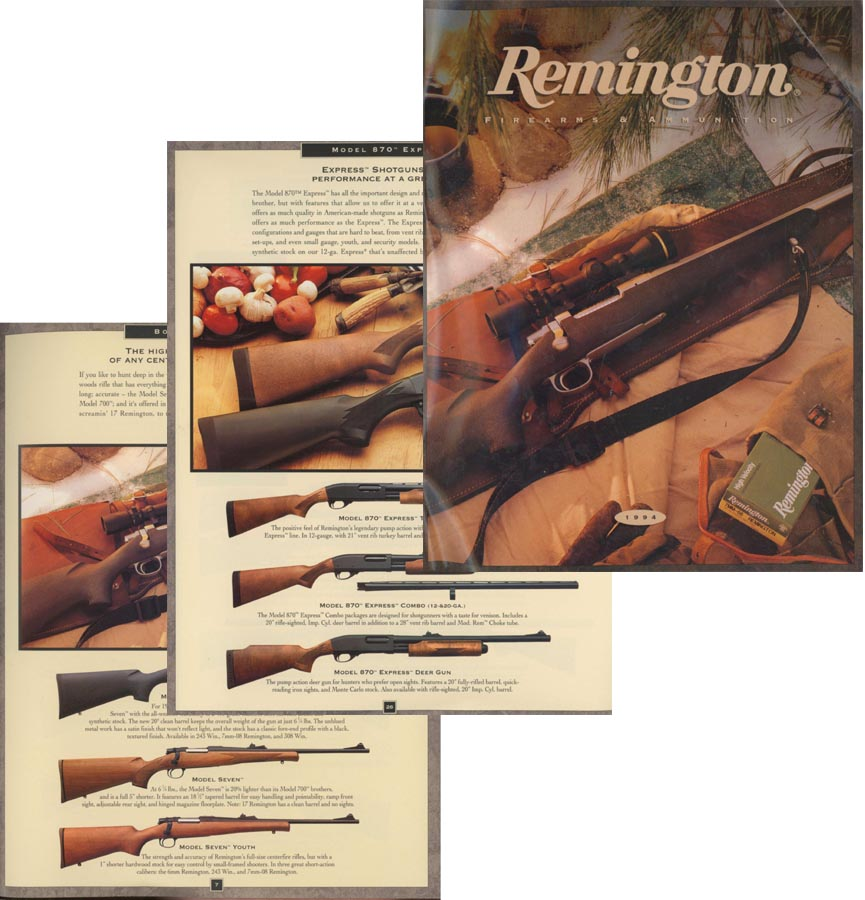 Remington 1994 Gun Catalog