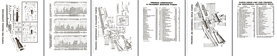 Franchi Schematic Drawings