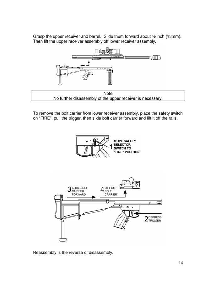 Barrett Model 95 Operator's  Manual