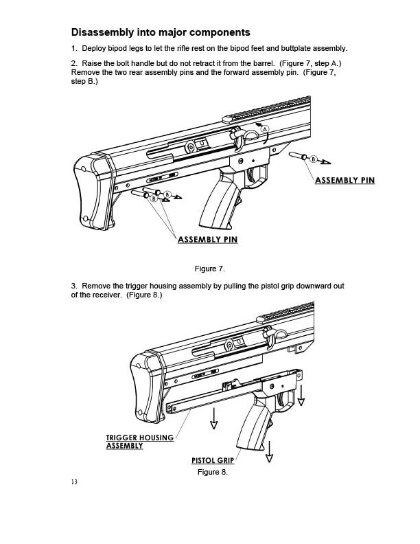 Barrett Model 99 Operator's Manual
