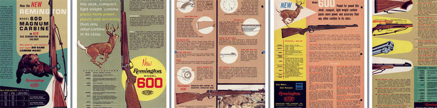 Remington Model 600- c1964 Introduction Flyer