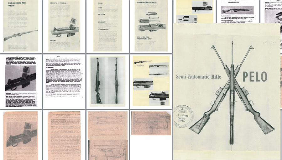Pelo Automatic Rifle (Finland) Brochure and Specifications