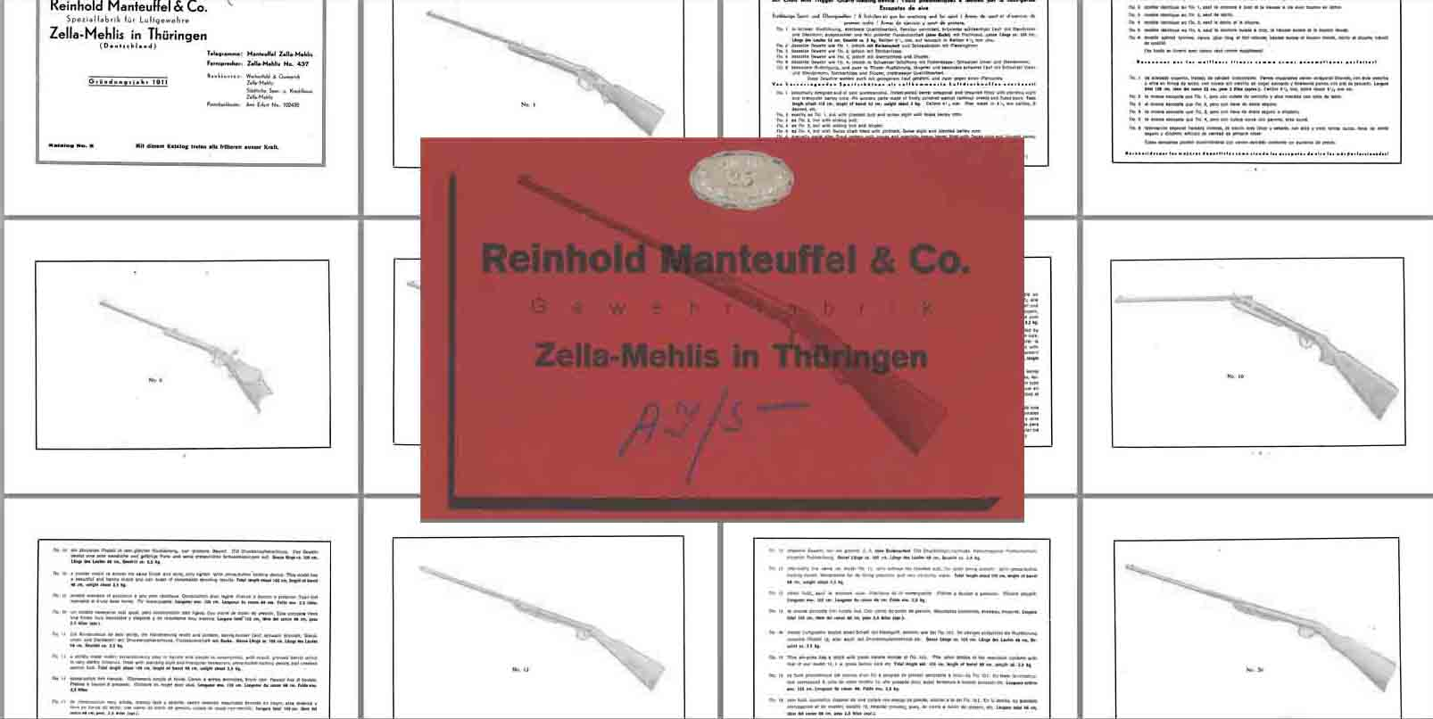 Reinhold Manteuffel & Co. 1936 (Germany)