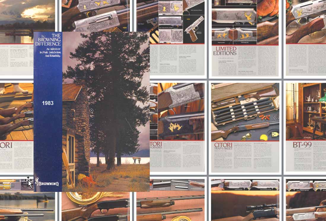 Browning 1983 Arms Catalog #5201