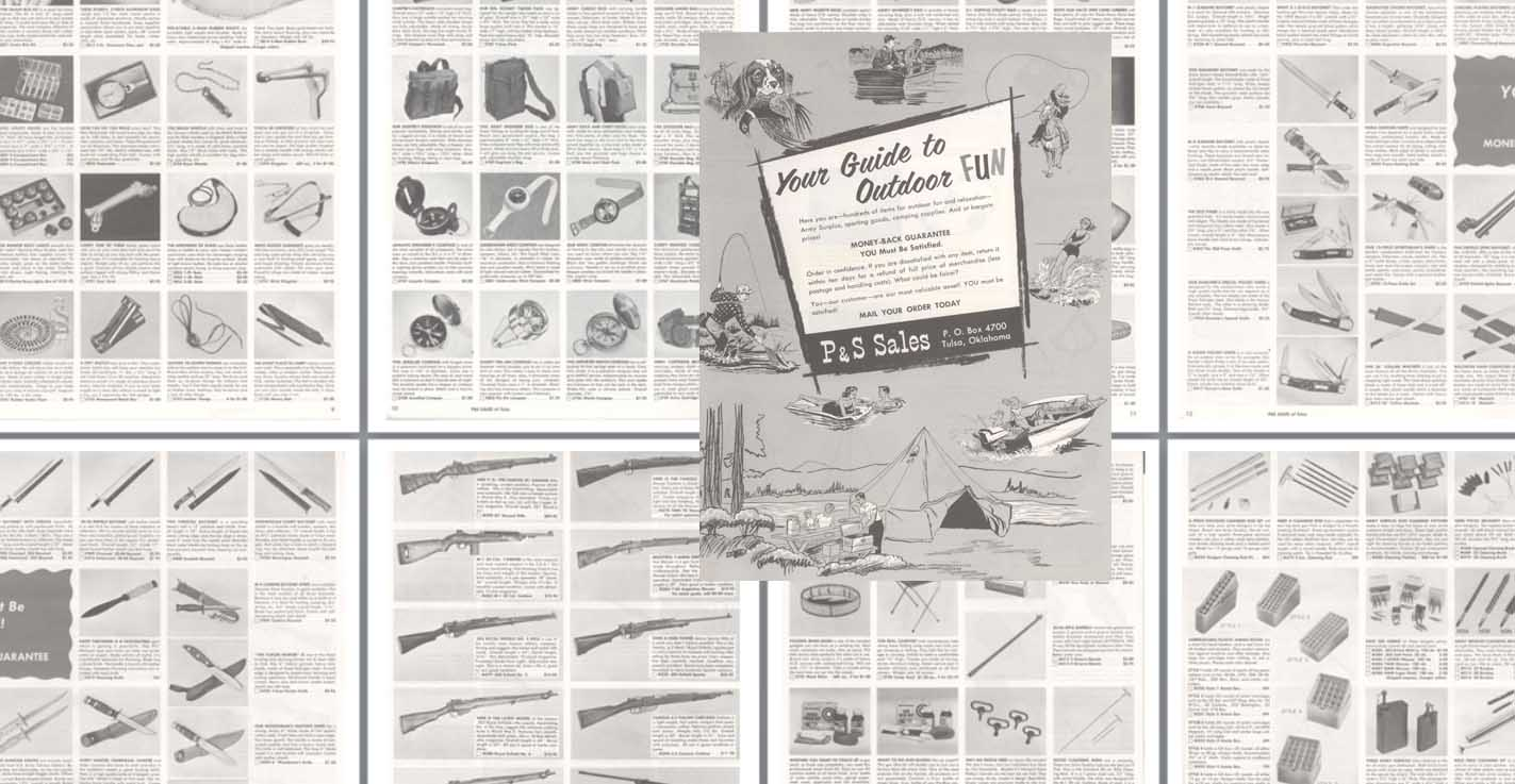 P&S Sales c1960 Guns and Sporting Goods