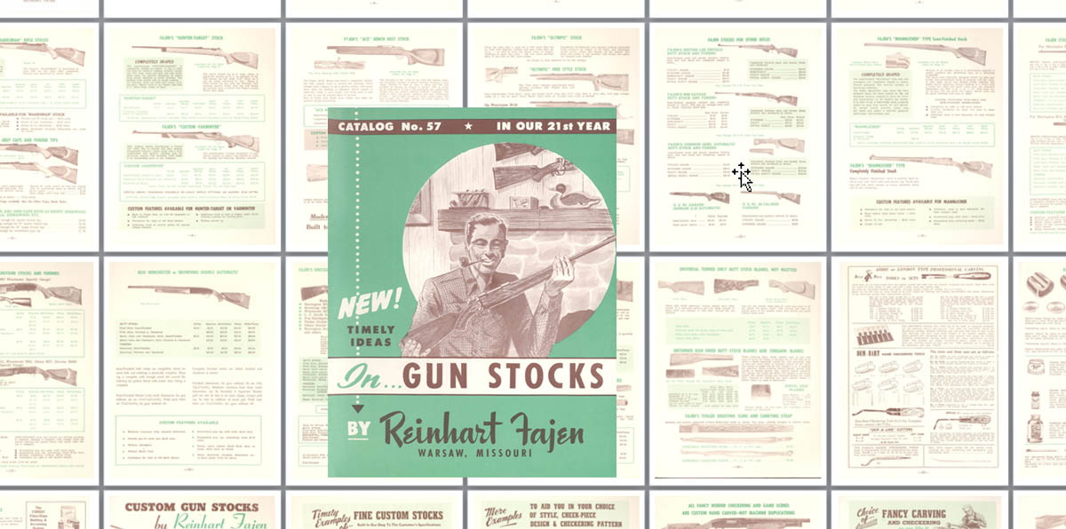 Reinhart Fajen c1950 Gun Stocks No. 57