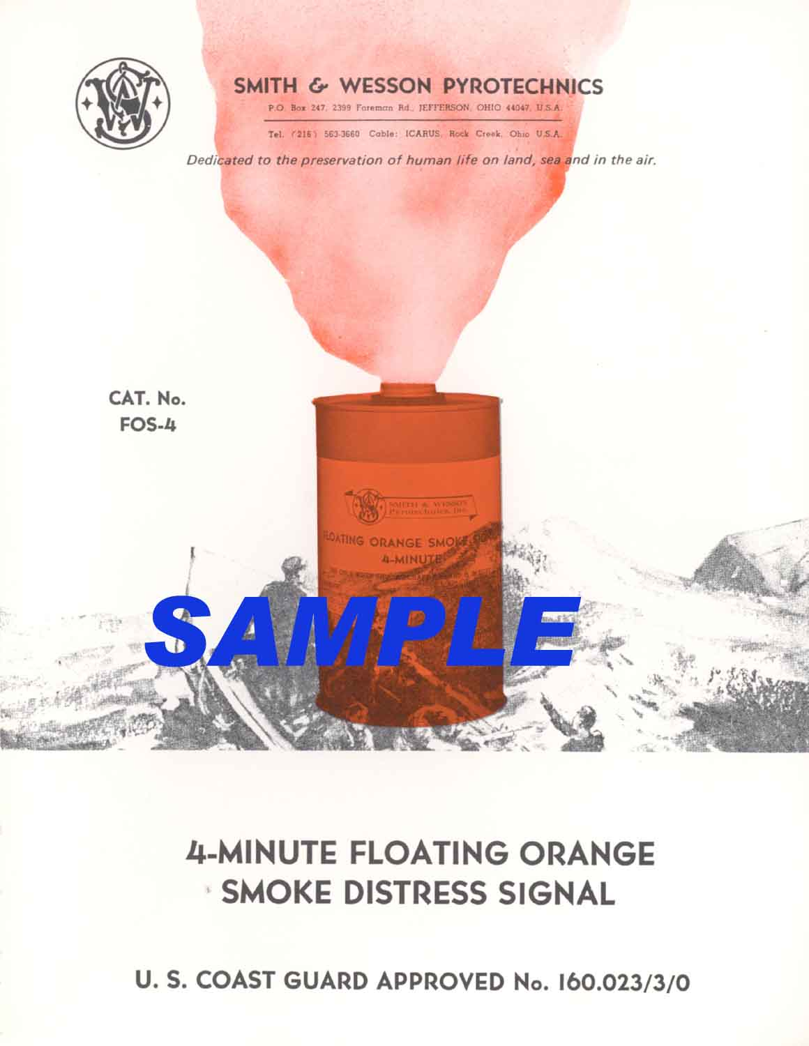 Smith & Wesson 1970c Floating Distress Signal