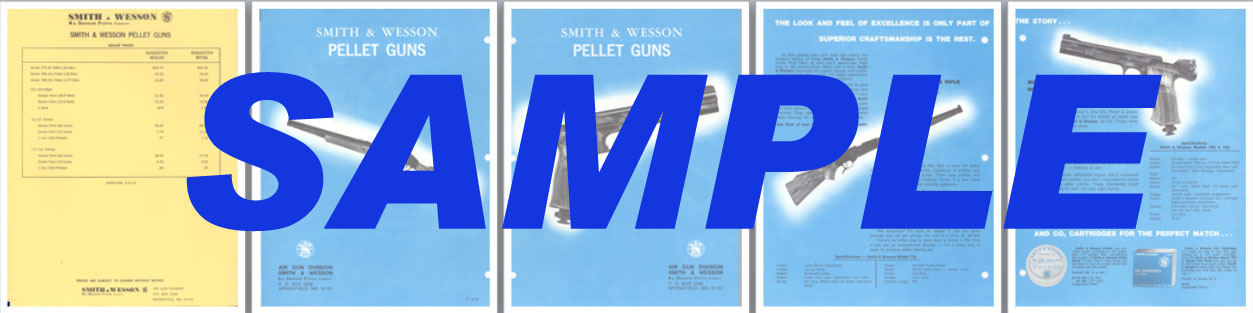 Smith & Wesson 1972 Pellet Guns