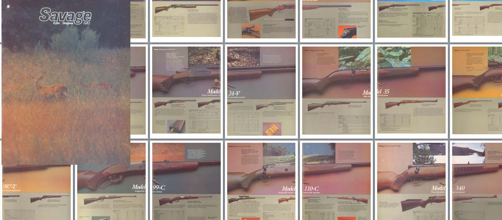 Savage 1982 Rifles & Shotguns
