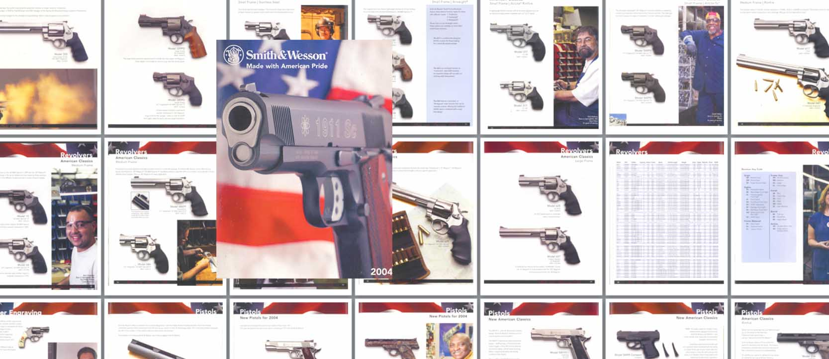 Smith & Wesson 2004 Gun Catalog