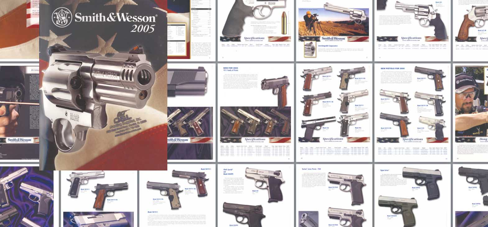 Smith & Wesson 2005 Gun Catalog