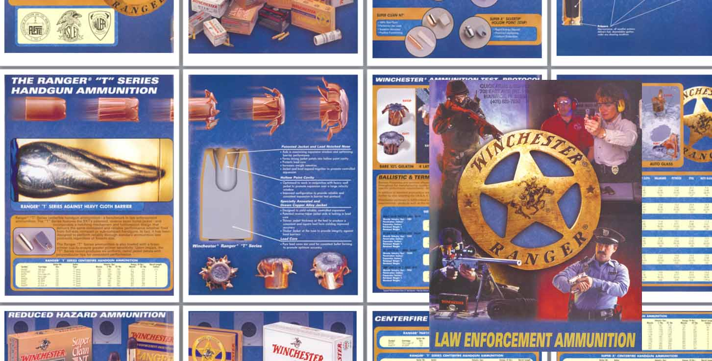 Winchester 2002 Law Enforcement Ammunition Catalog