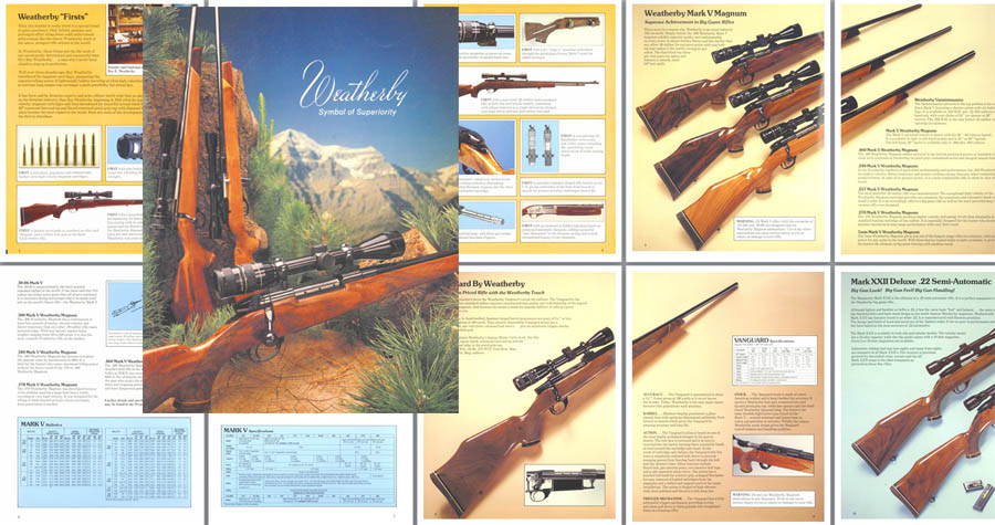 Weatherby 1980 35th Anniversary Gun Catalog