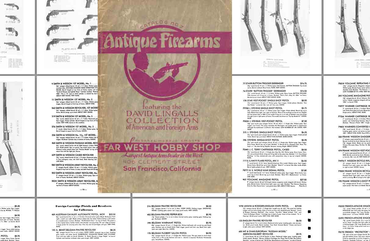 Far West Hobby Shop c1940 Collector Catalog