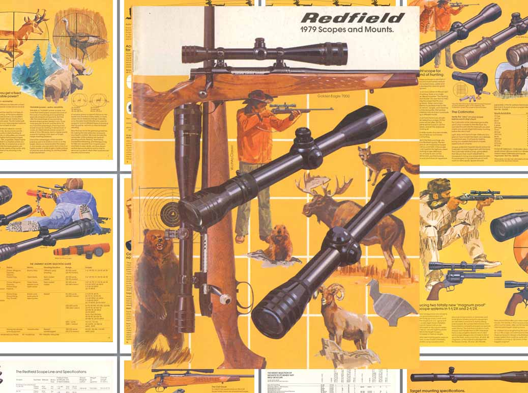 Redfield 1979 Scopes, Sights and Mounts Catalog