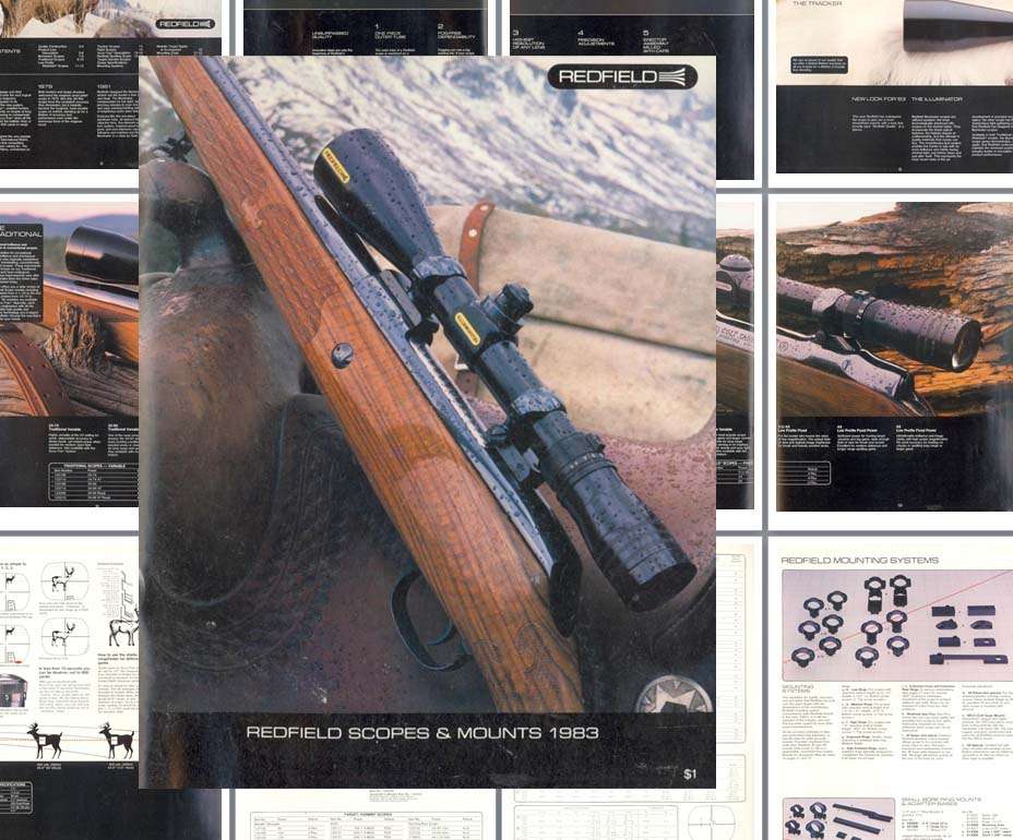 Redfield 1983 Scopes, Sights and Mounts Catalog