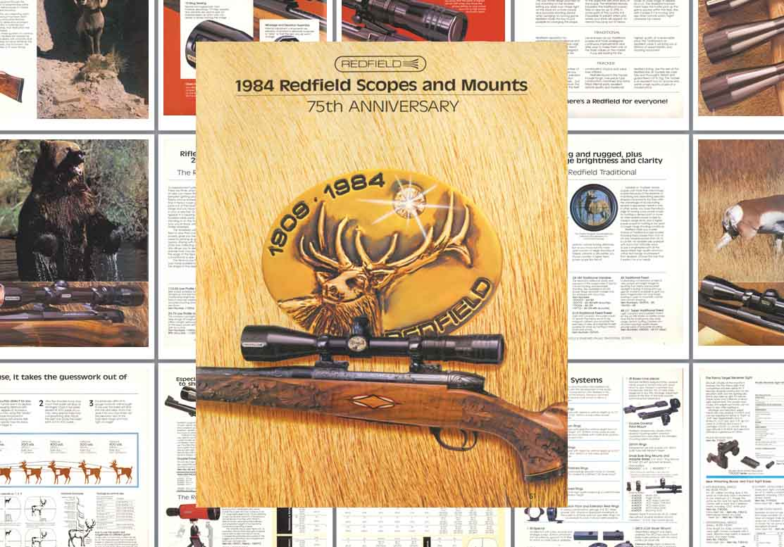 Redfield 1984 Scopes, Sights and Mounts Catalog