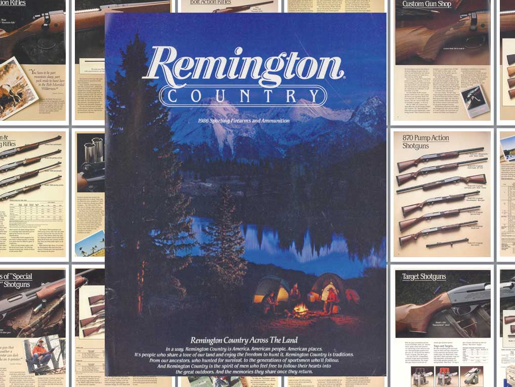 Remington 1986 Firearms Catalog