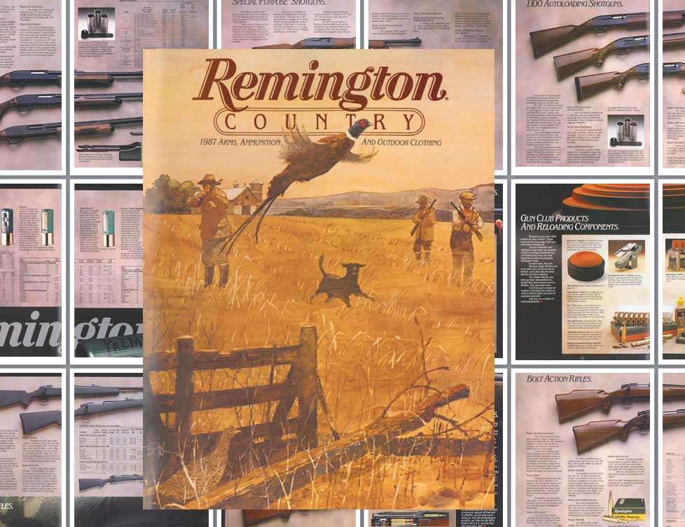 Remington 1987 Firearms Catalog