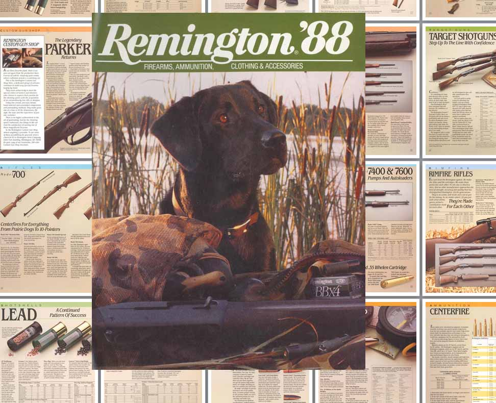 Remington 1988 Firearms Catalog