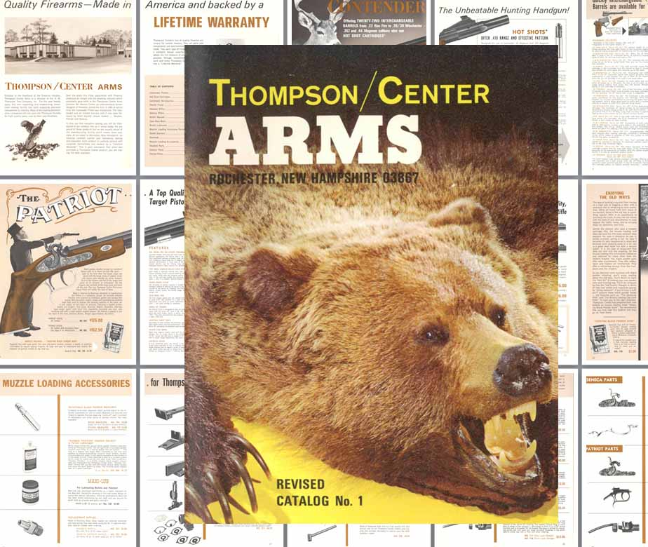 Thompson Center Arms 1974 No. 1 Gun Catalog