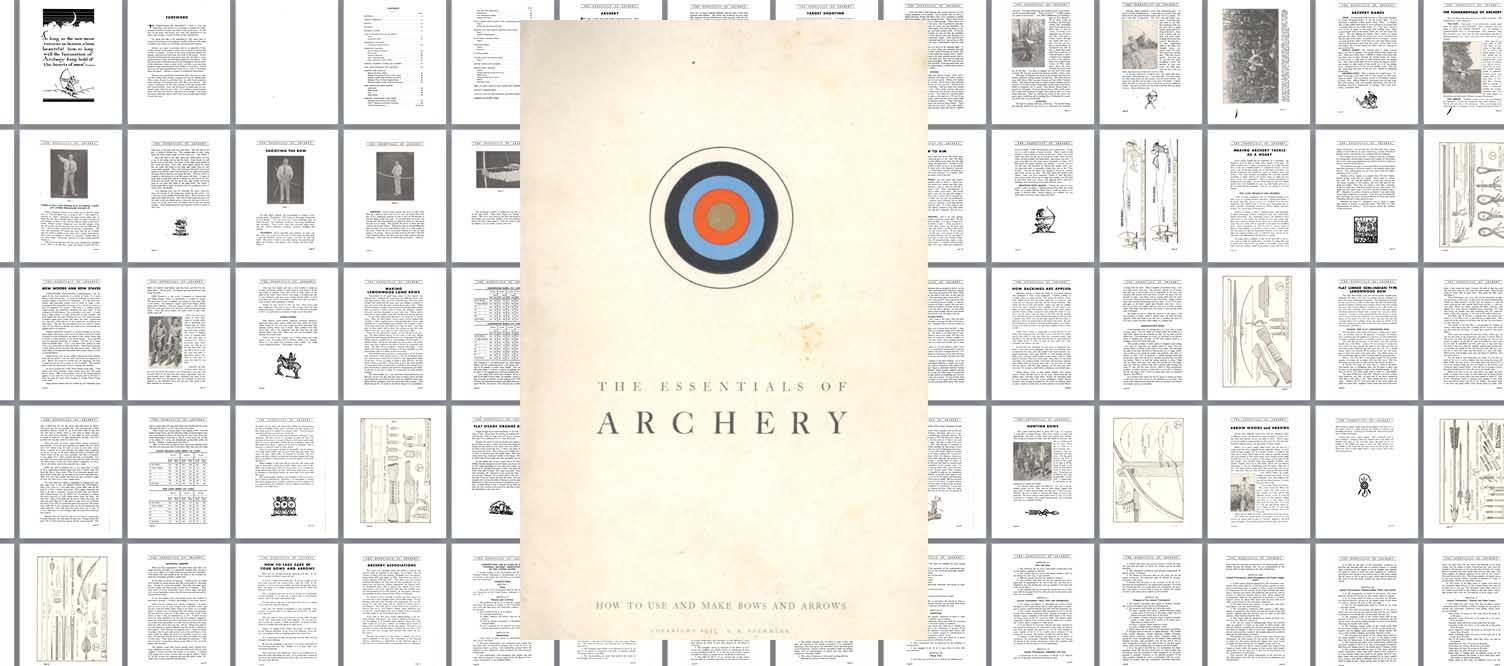Stemmler 1932 Archery Essentials & Catalog