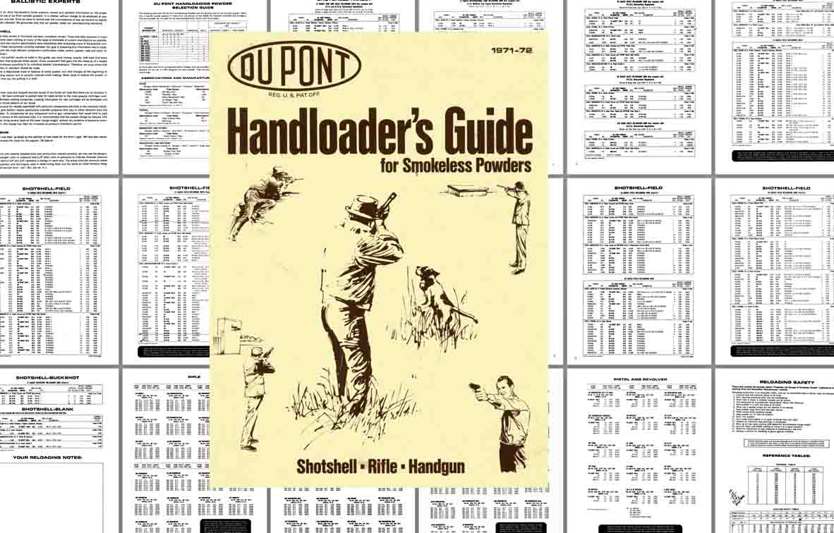Dupont 1972 Handloader Guide- Smokeless Powder