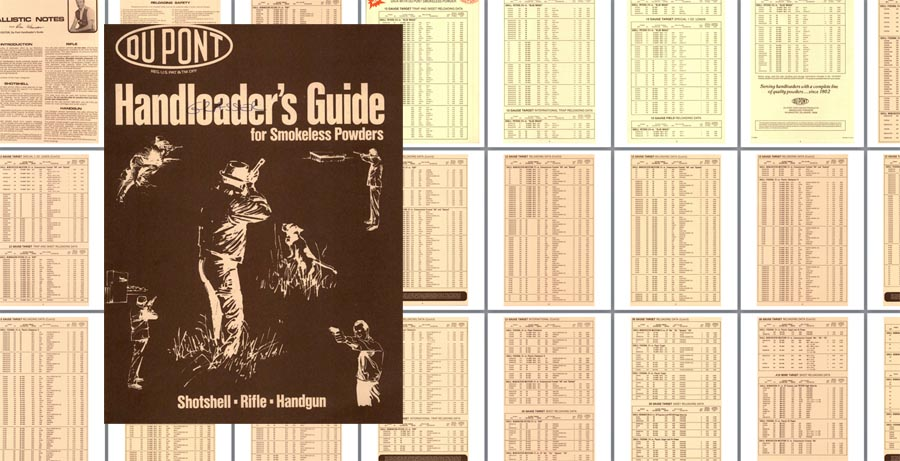 Dupont 1978 Handloader Guide- Smokeless Powder